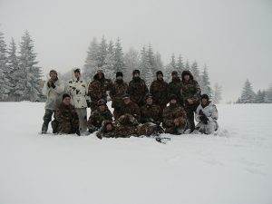 Osobité čaro majú zimné akcia. Ako napríklad táto v Žítkovej (ČR).