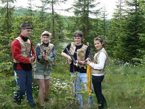V Jizerských horách (ČR) sme organizovali viacero podujatí a to vďaka ekologickej nezávadnosti lasertagu.